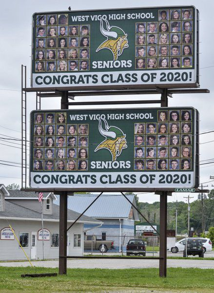 Billboards honor VCSC's new grads