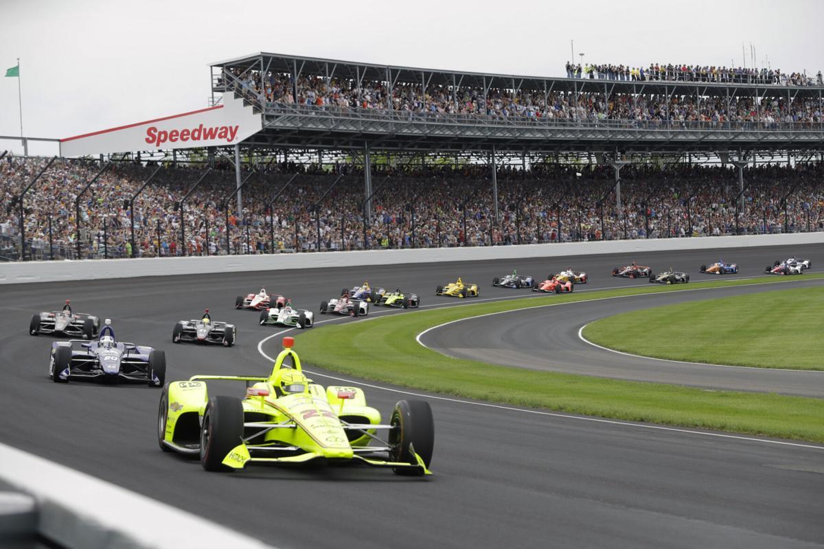 IndyCar Indy 500 No Fans Auto Racing