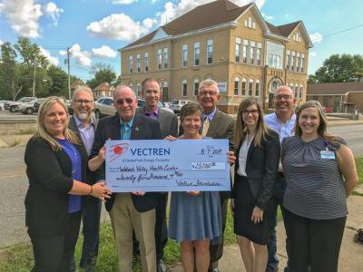 Donation gets health center closer to project goal