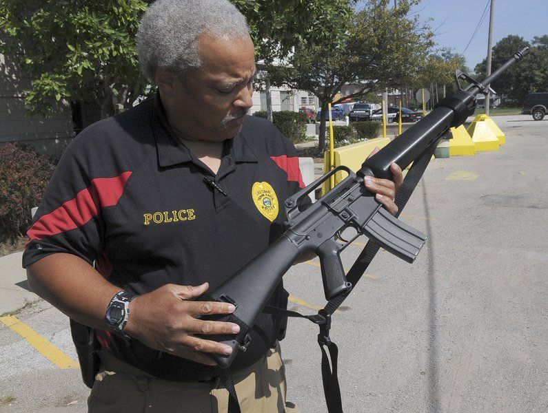 Valley police stock up on used military gear   Local News