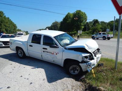 One injured in crash at U S  41 and Indiana 246 | Local News