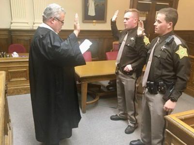 Sullivan County welcomes two new deputy sheriffs