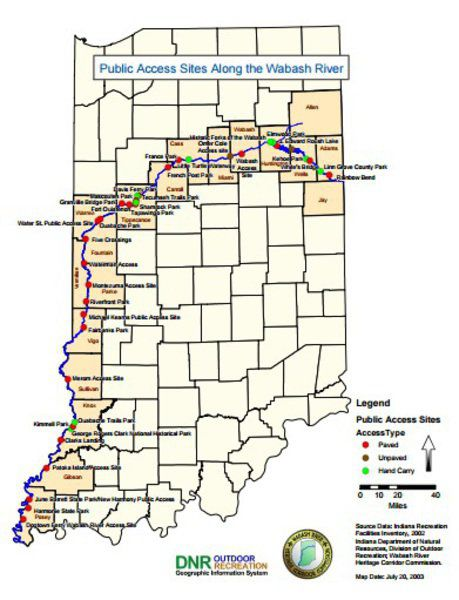 Mark Bennett Wabash River Road could put Indiana on adventurers