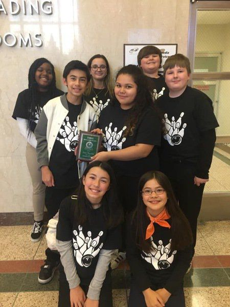 TH South runner-up at state Spell Bowl