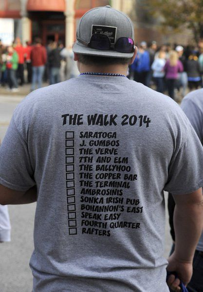 Thousands turn out for 'The Walk' as others work to keep them safe