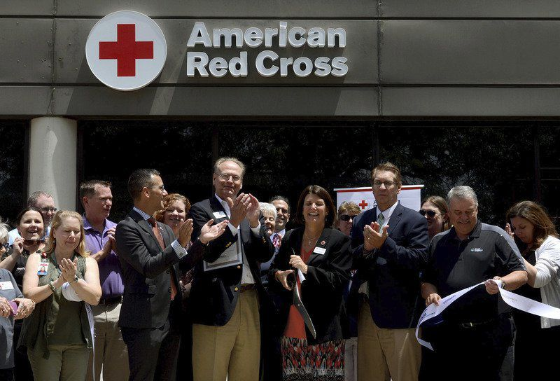 Red Cross makes move across town