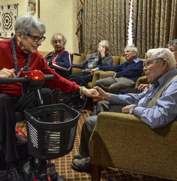 World War II veteran, Holocaust 'witness' turns 99