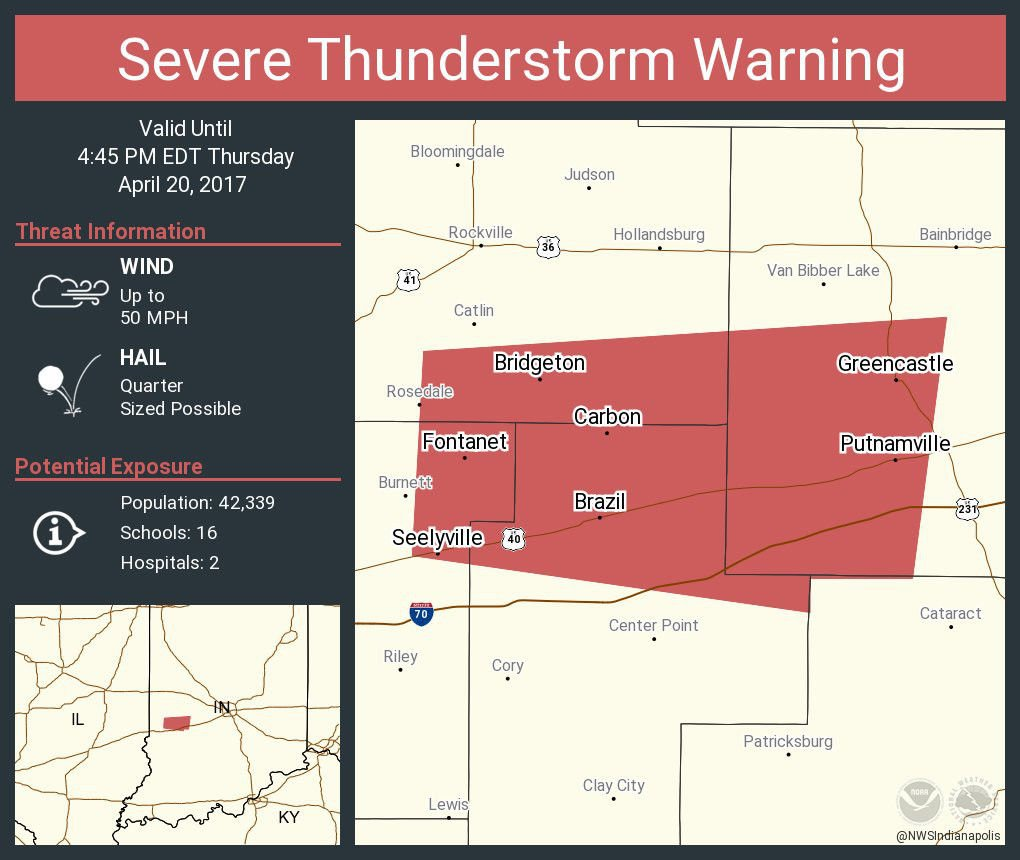 Indiana clay county harmony - Update Thunderstorm Watch In Vigo Clay Parke Issued By Nws