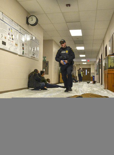 Exercise lets Woods, Ivy Tech students train with pro 1st responders