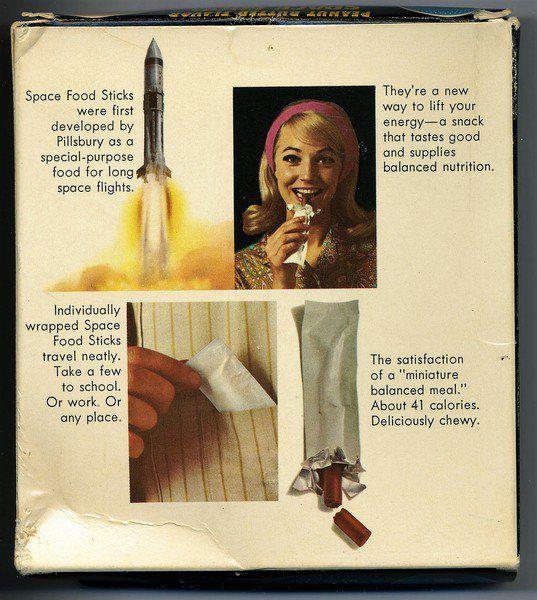 Pillsbury turned Apollo 11 euphoria into Space Food Sticks