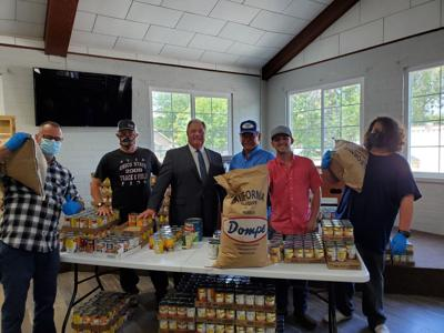 Lions Club Donates $5,000 over five months to support Church Without Walls food pantry.jpg