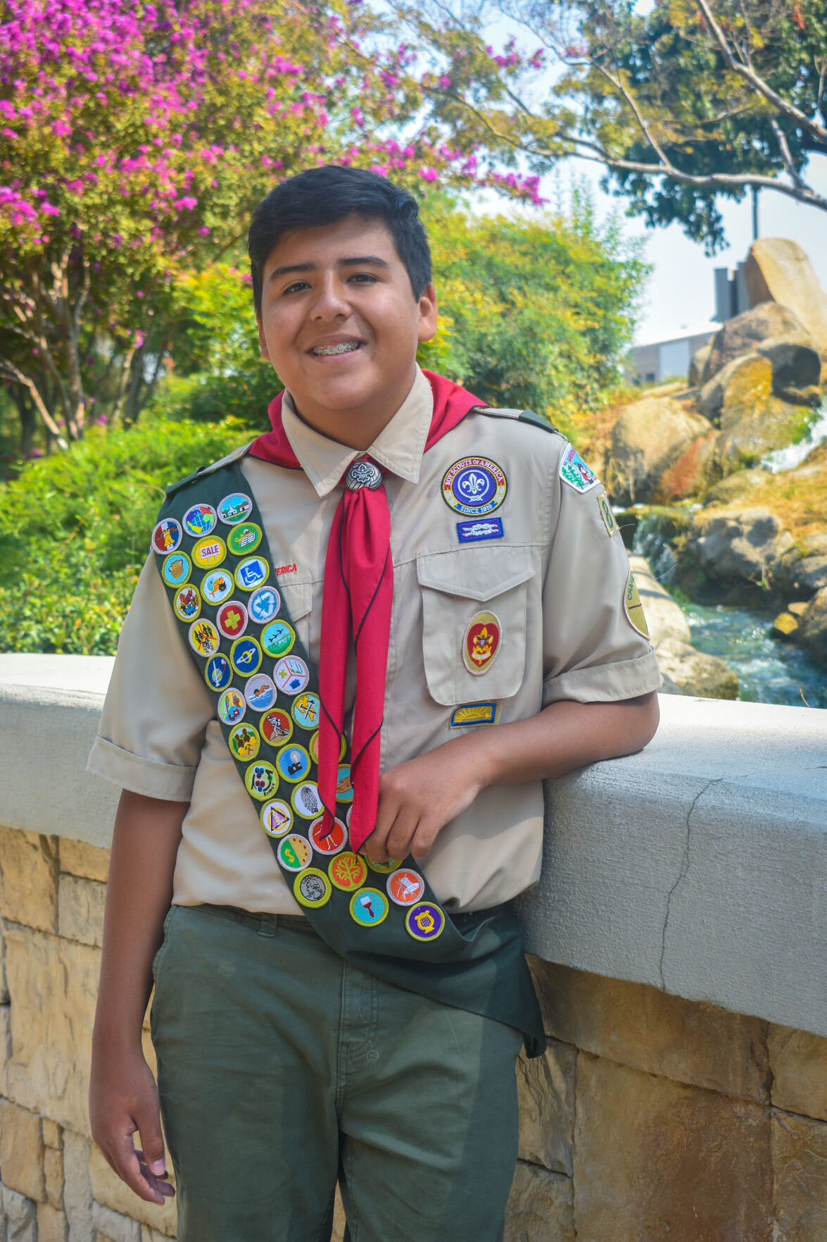 Young Eagle Scouts finally get their moment