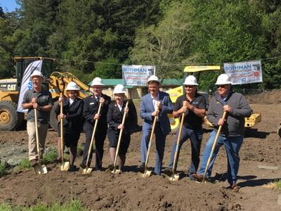 Groundbreaking for SV's first synthetic playing turf