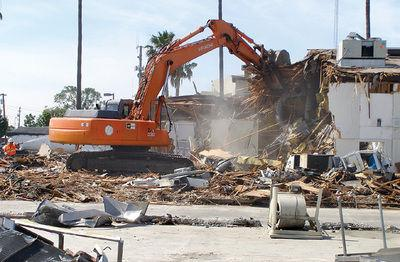 Tracing Tracy: THS demolition paves way for new buildings