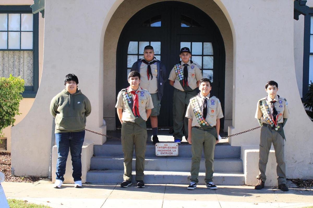 Massen Diaz gifts Eagle Scout project to Patterson Historical Society