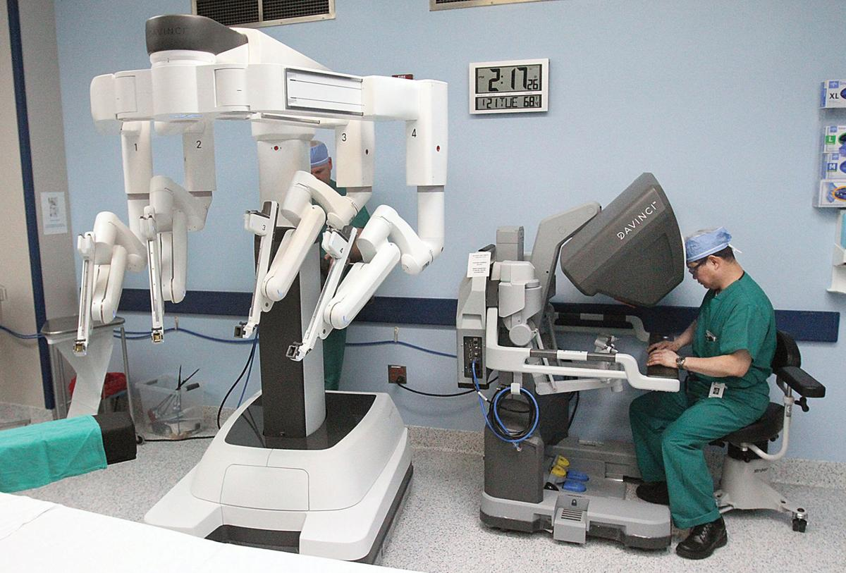 Robotic surgery comes to Tracy