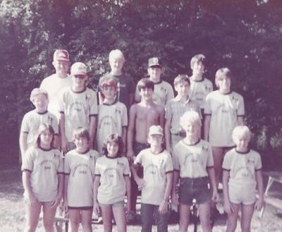 Wilderness Camping - 1983