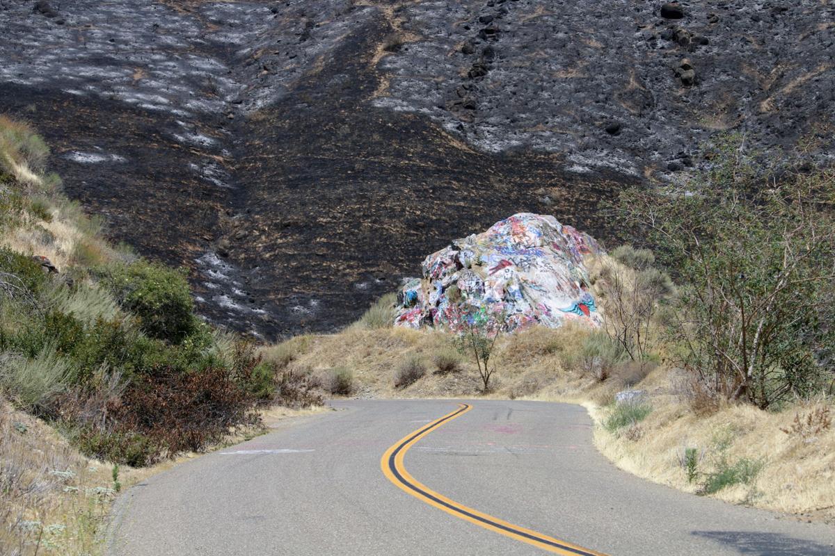 Rock Fire, Del Puerto Canyon