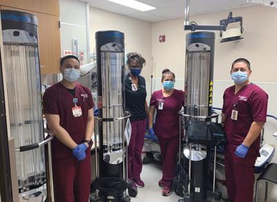 Robots at hospital