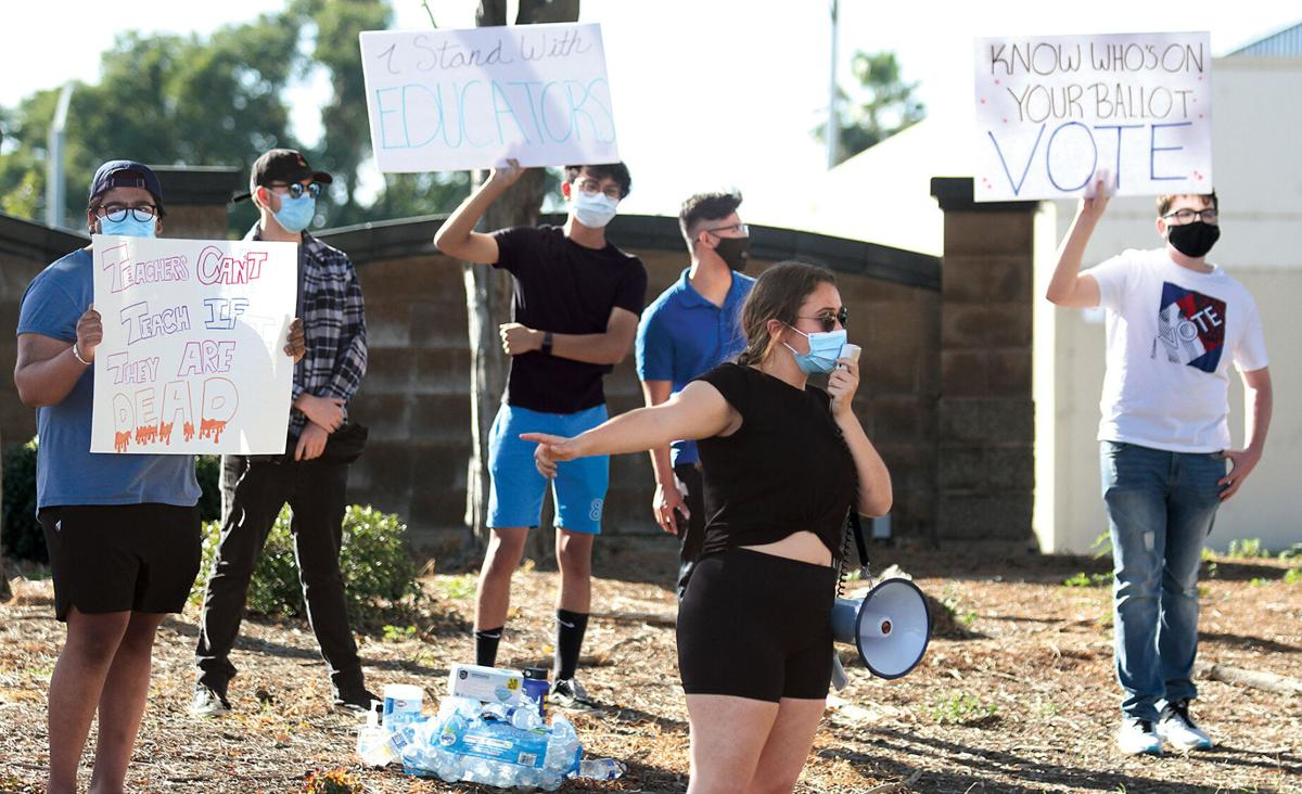 Protesters rally against TUSD decision