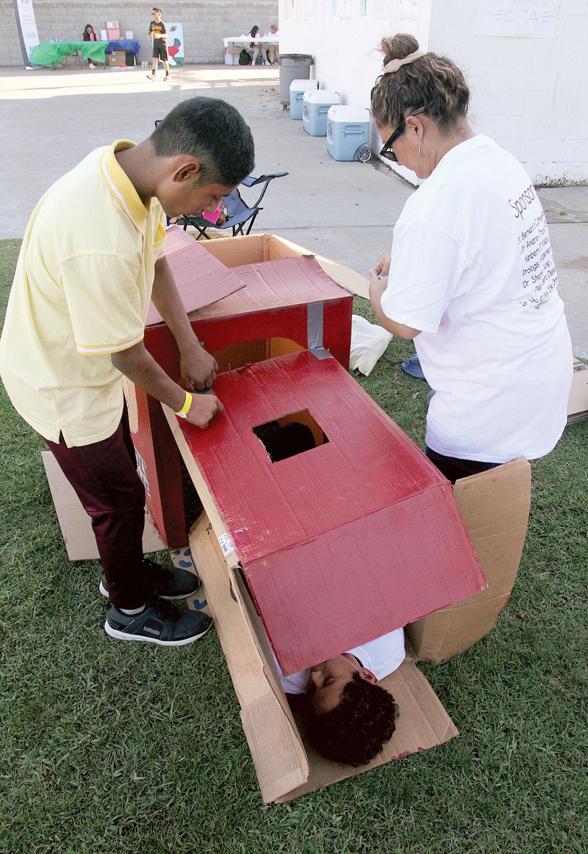Kids in a box