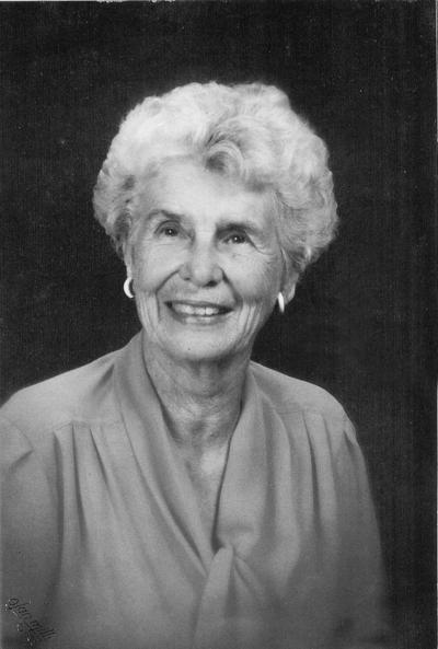 Esther Garrett Hamilton: April 27, 1918 – October 1, 2019