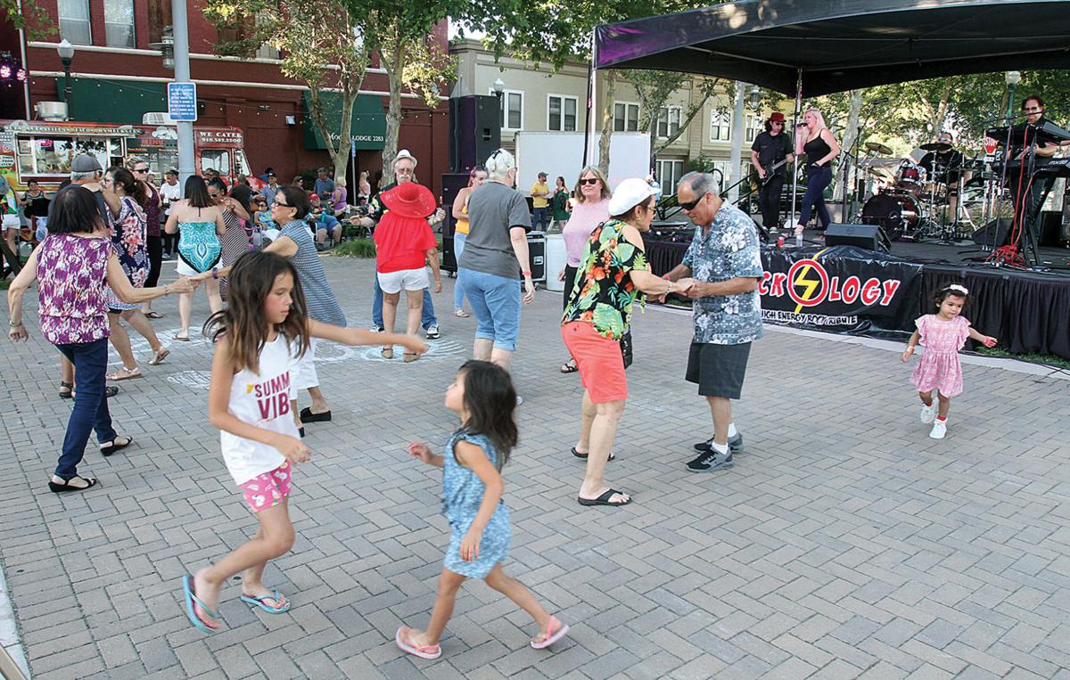 Block Party at the plaza