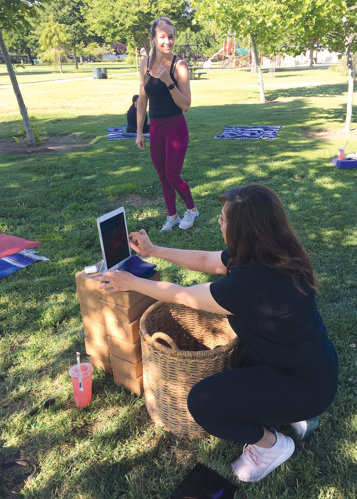 Yoga in Lincoln Park