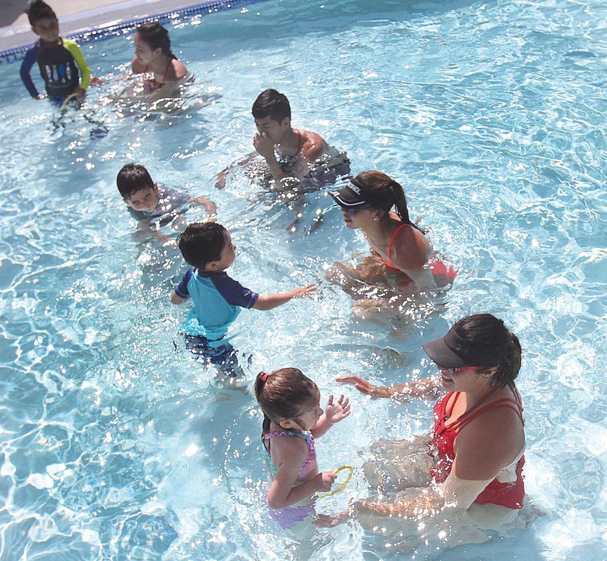 Pool opens Saturday