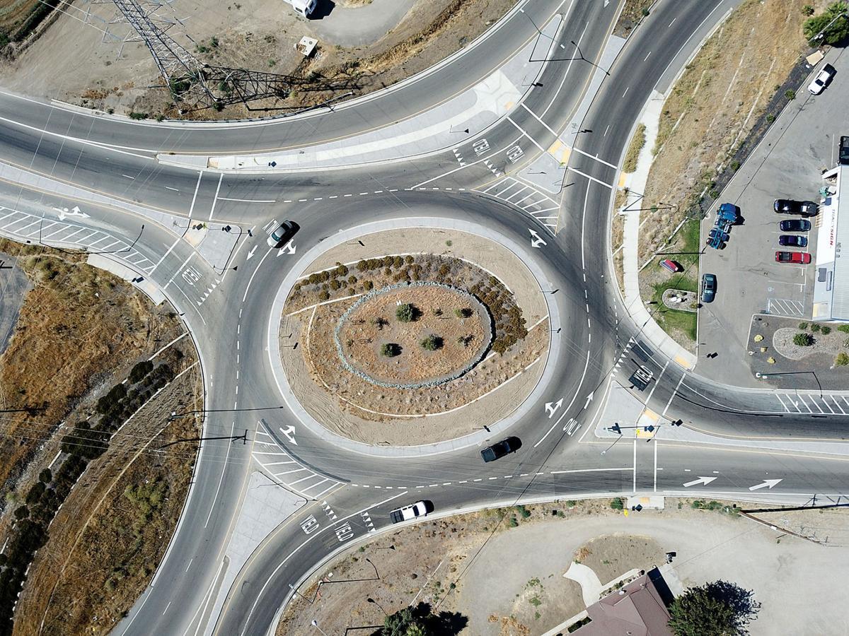 Roundabout changed