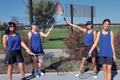 Mountain House doubles tennis