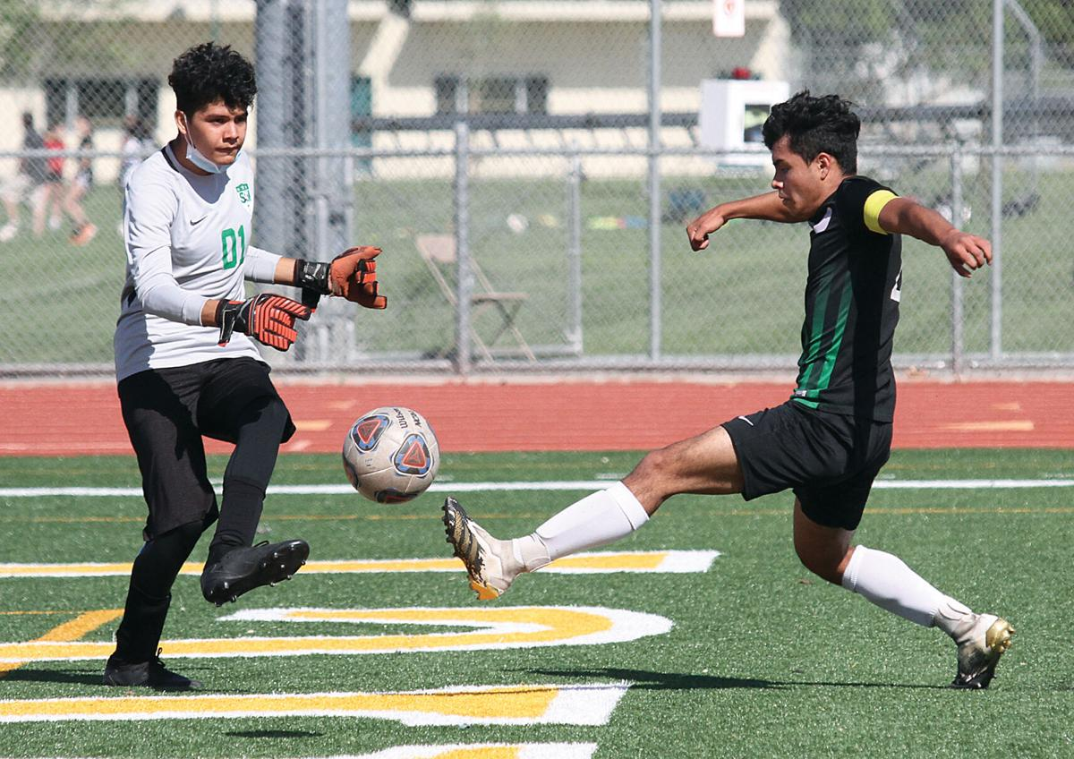 Tracy High soccer