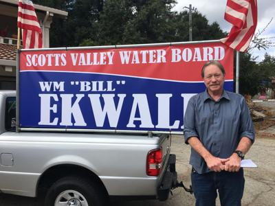 """Wm """"Bill"""" Ekwall is the only non-incumbent running for SVWD BOD"""