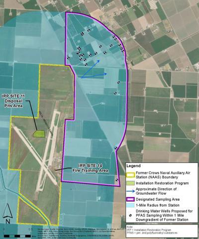 Navy testing groundwater near NASA Crows Landing