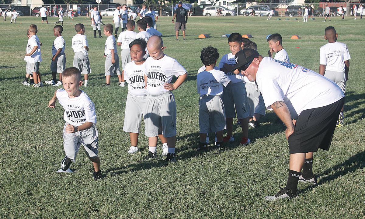 Youth teams begin practice