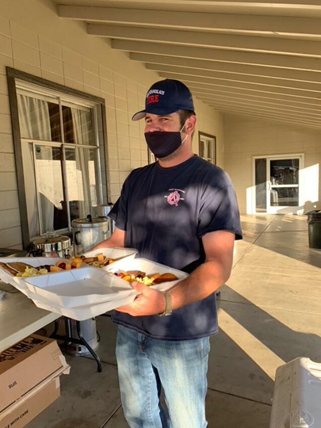 Pancake breakfast fundraiser raised money for equipment and tools for firefighters