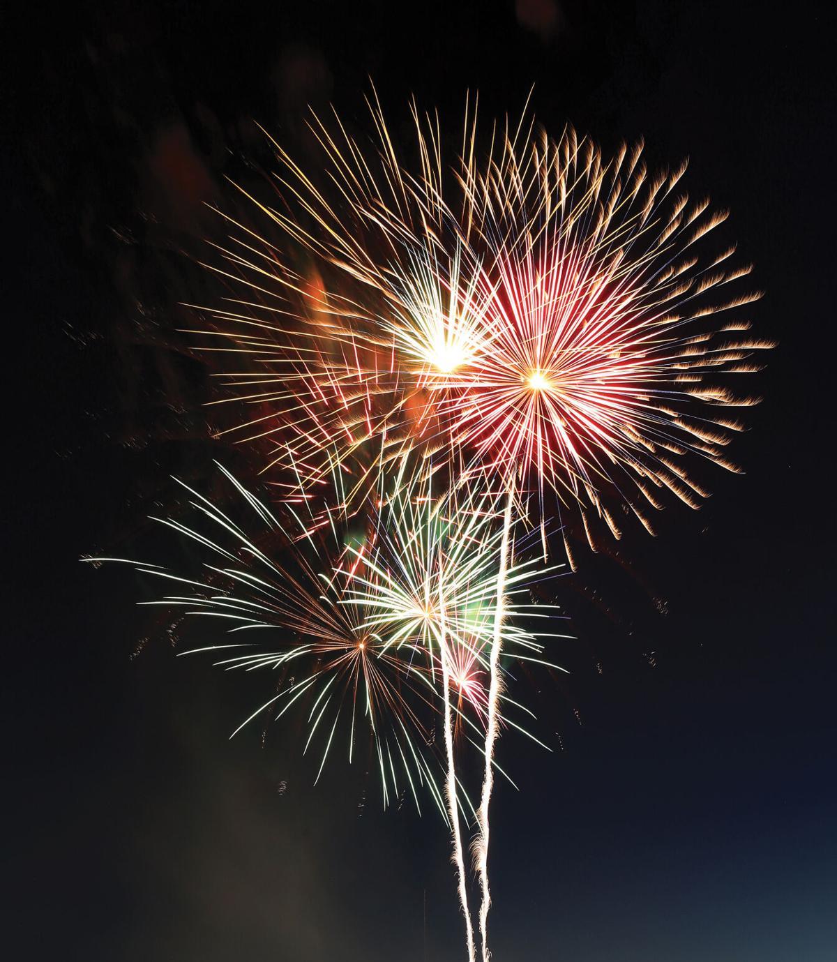 City fireworks show