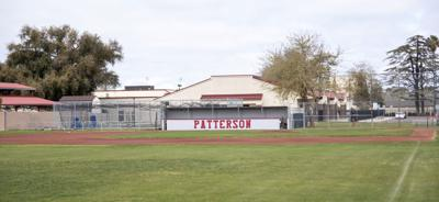 Patterson High varsity baseball field