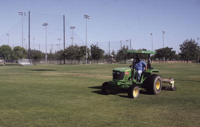Sports complex maintenance