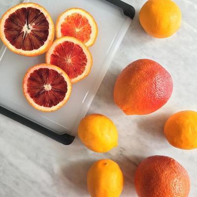 Blood oranges and lemons