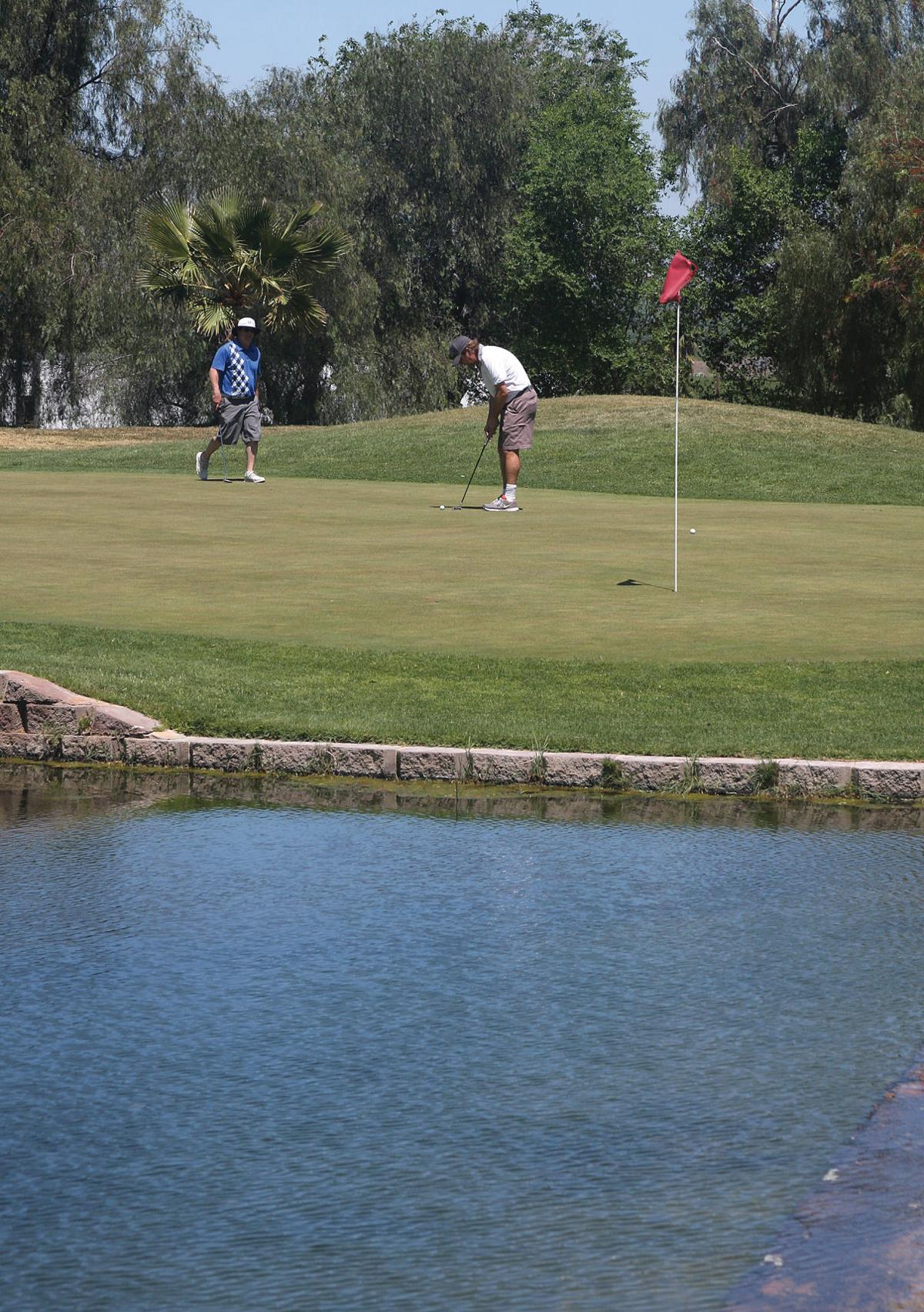 Golf resumes in Tracy
