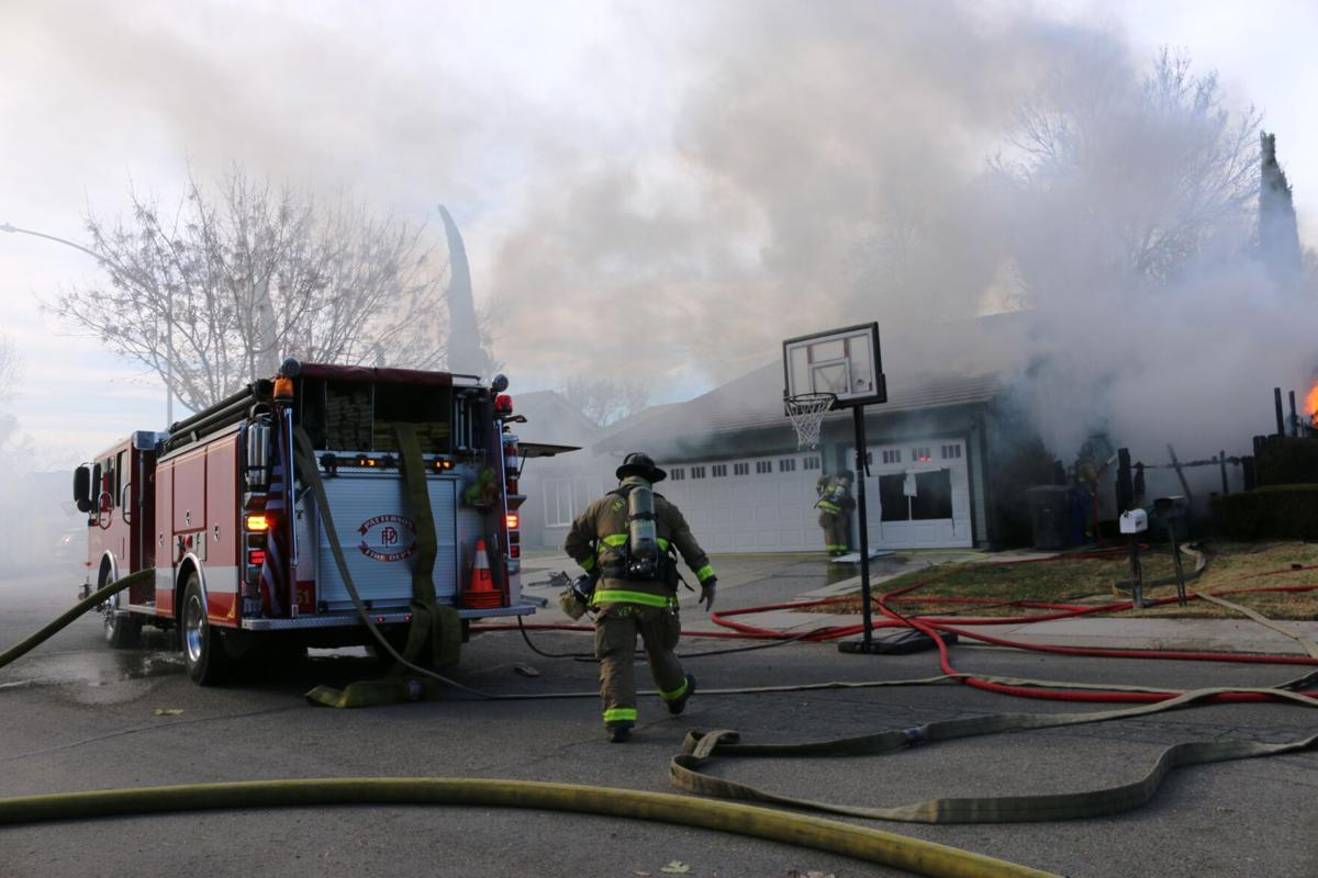 Multiple structure fires in Patterson