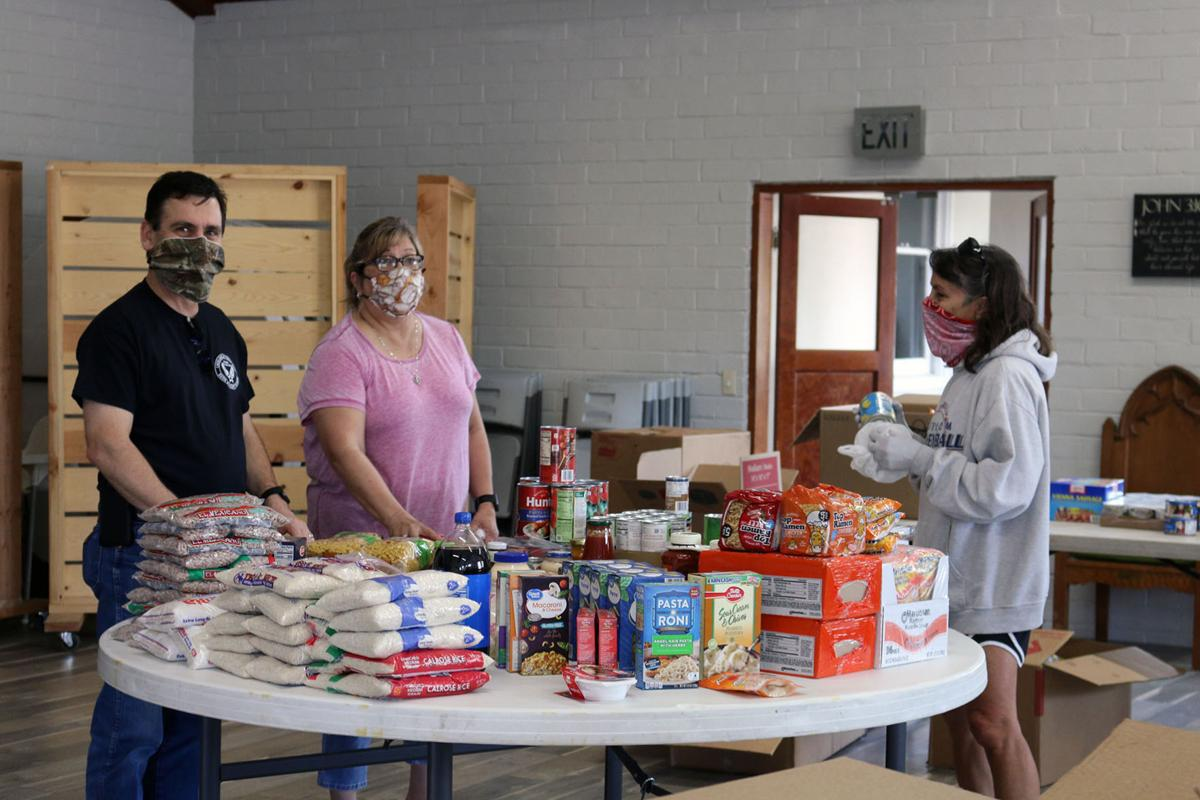 Church Without Walls Food Pantry