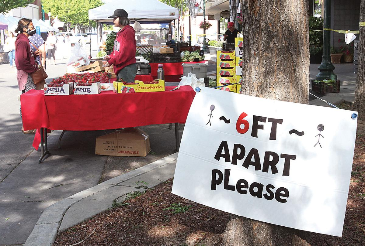 Farmers market returns downtown