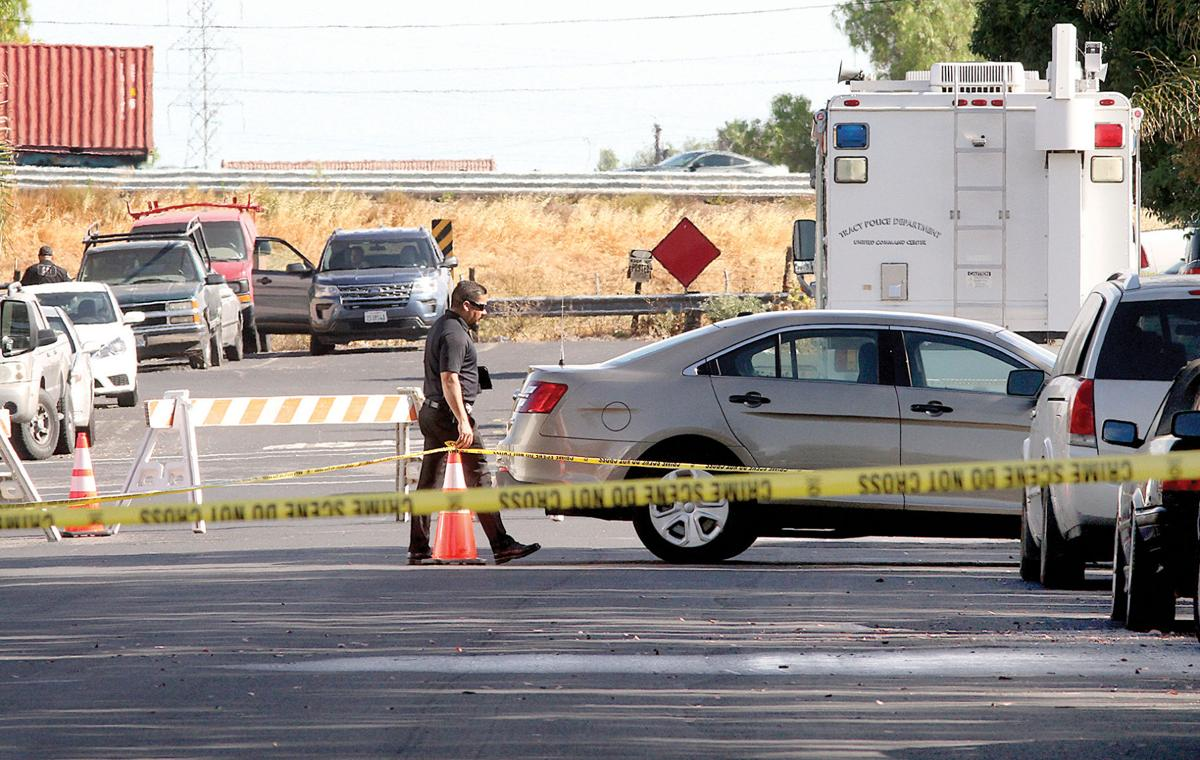 Officer shoots man in north Tracy
