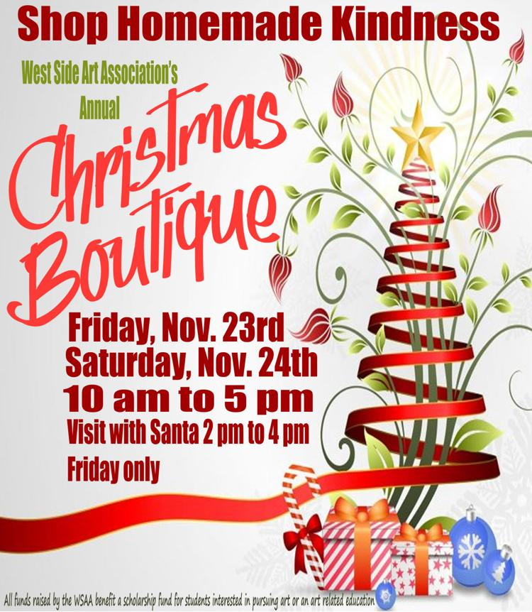 WSAA Christmas Boutique