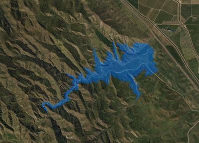 Proposed Del Puerto Reservoir