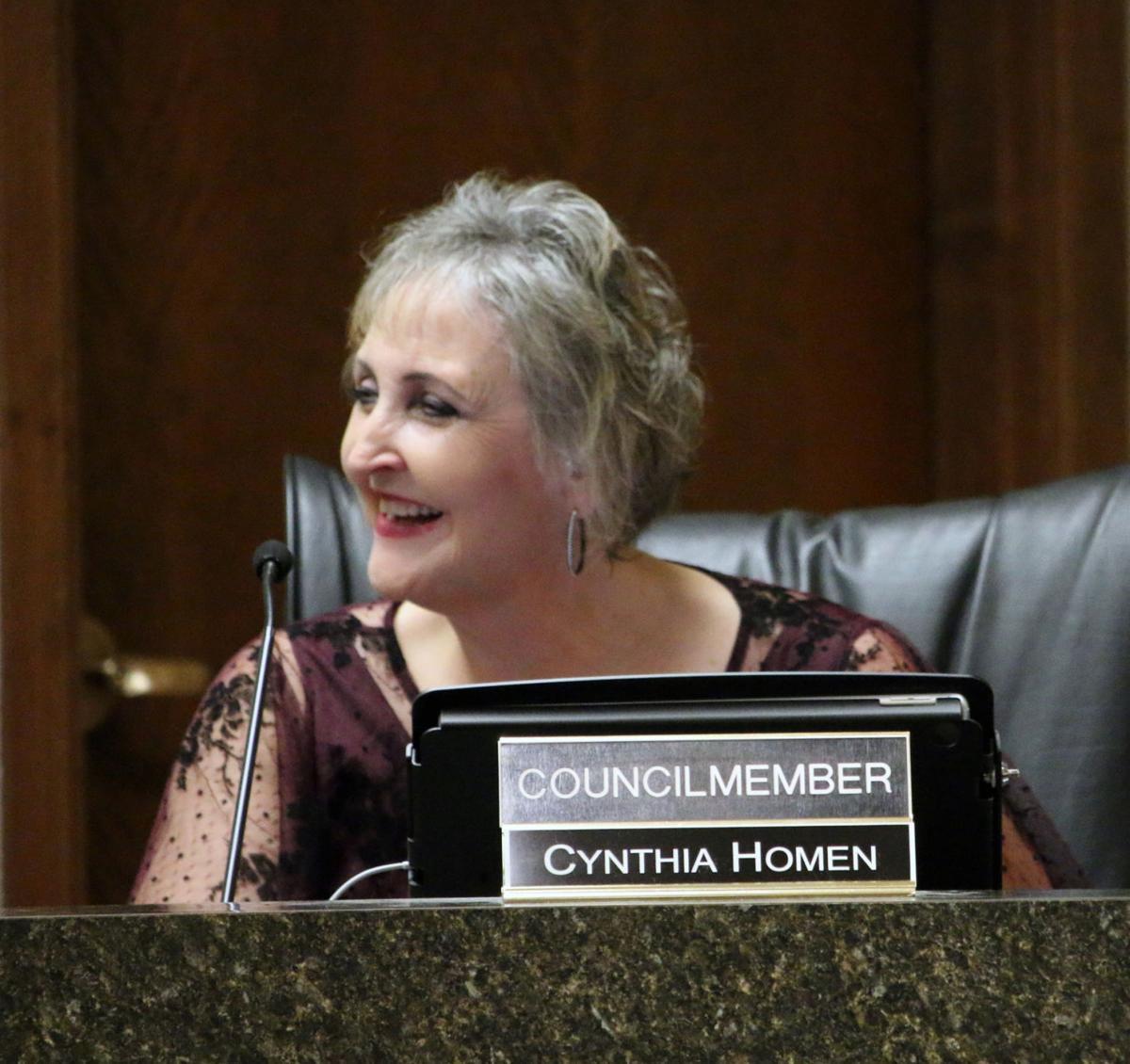 Councilmember Cynthia Mathews-Homen