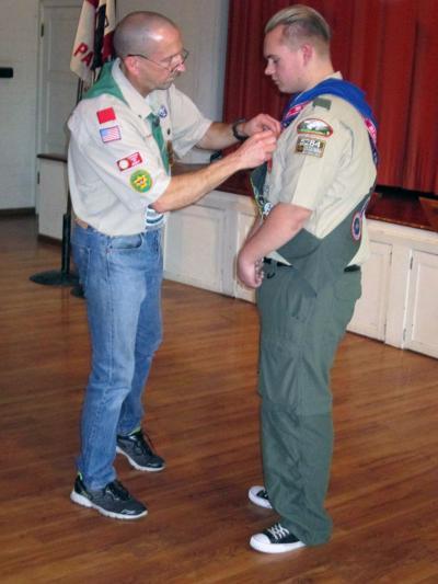 Eagle Scout Ryan Miller