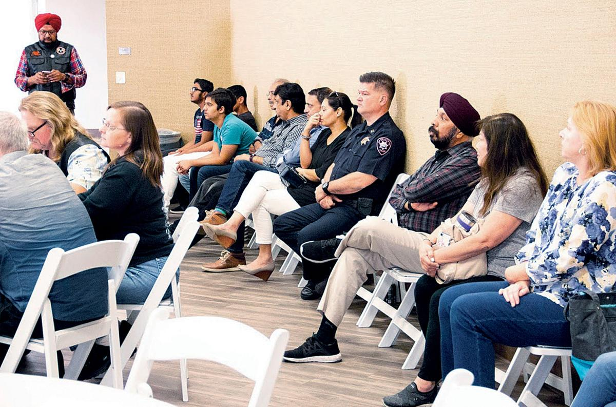 Sikhs host community outreach